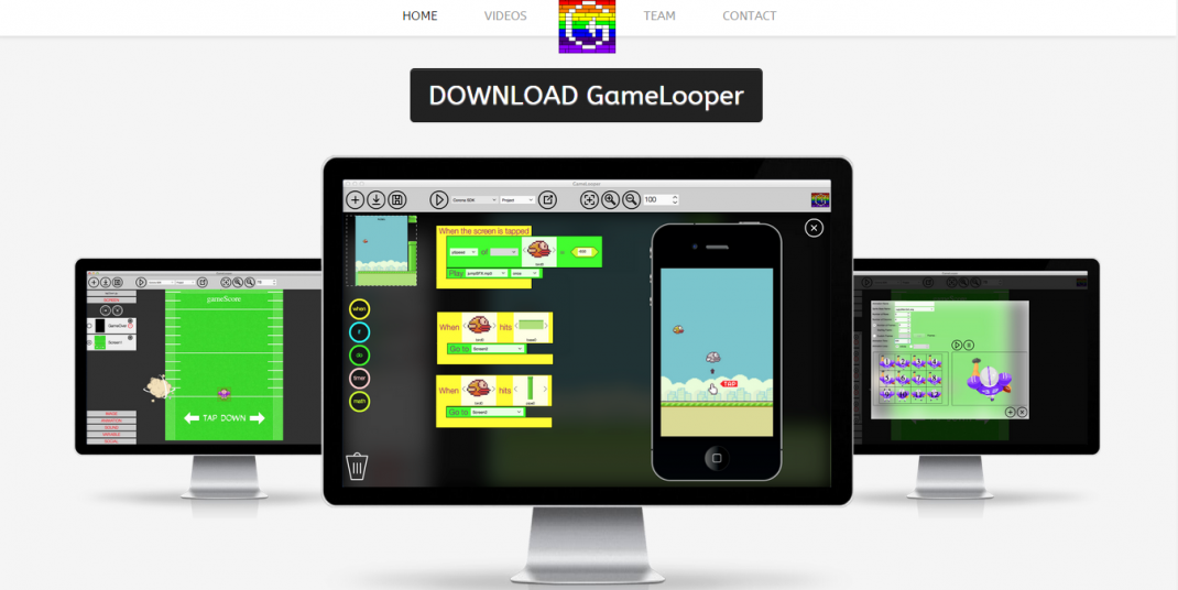 Gamelooper is a new app that lets you design and build your own mobile games