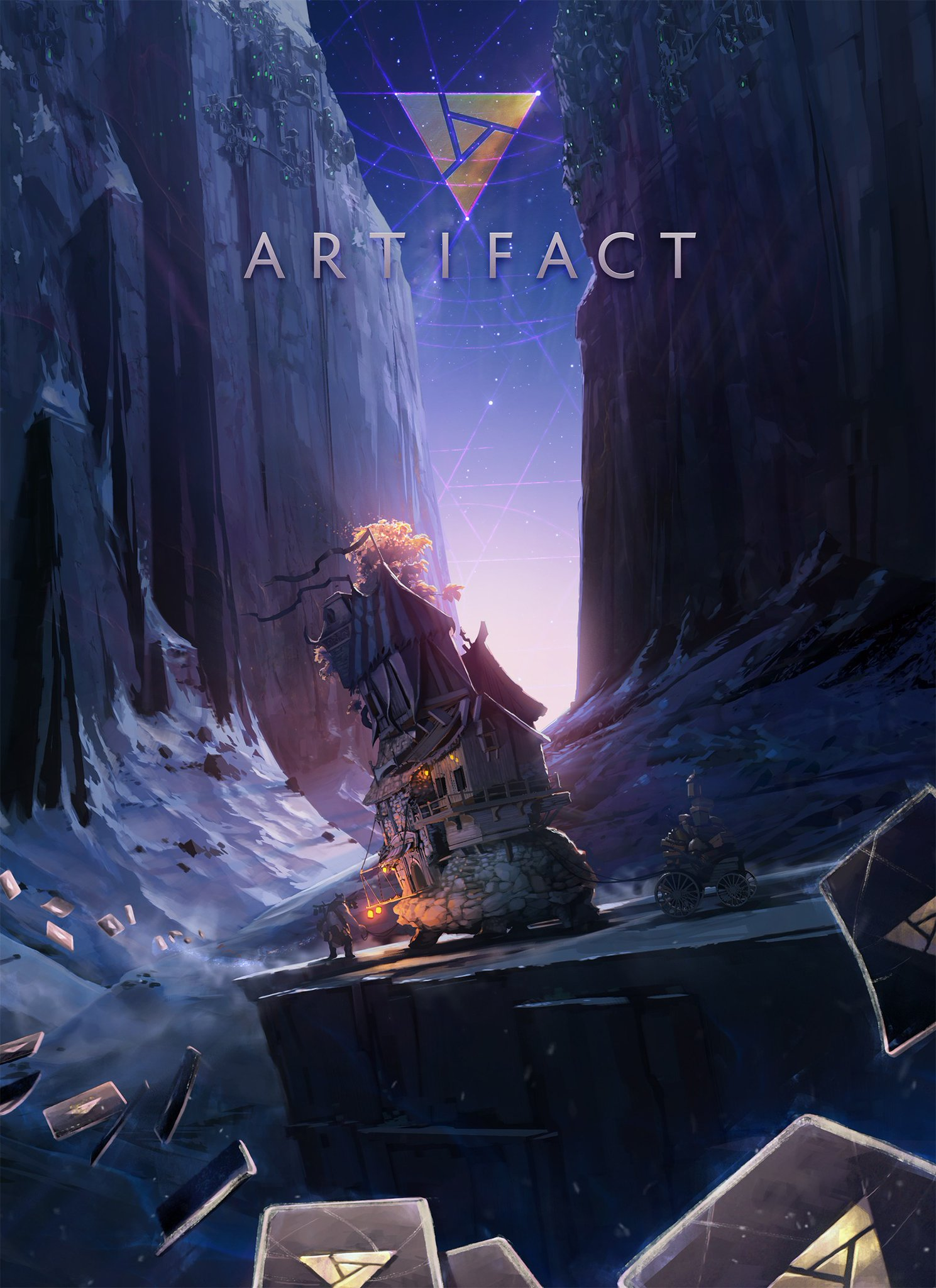 Valve's premium card game Artifact finally gets revealed, designed by the creator of Magic and coming next year to mobile