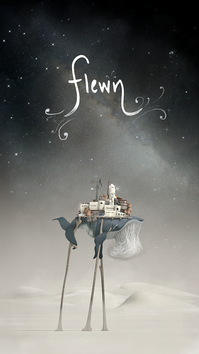 Flewn is a gorgeous interactive story about an old stilt-walking whale, three years in the making