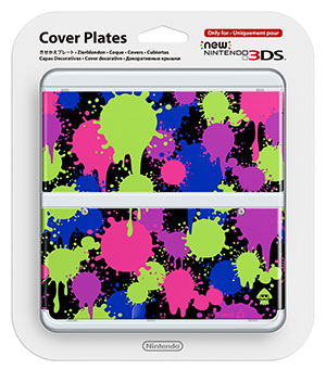 These Splatoon cover plates for New Nintendo 3DS might be a sign of things to come