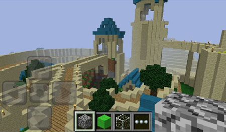 Minecraft pocket edition is now available on the kindle fire having