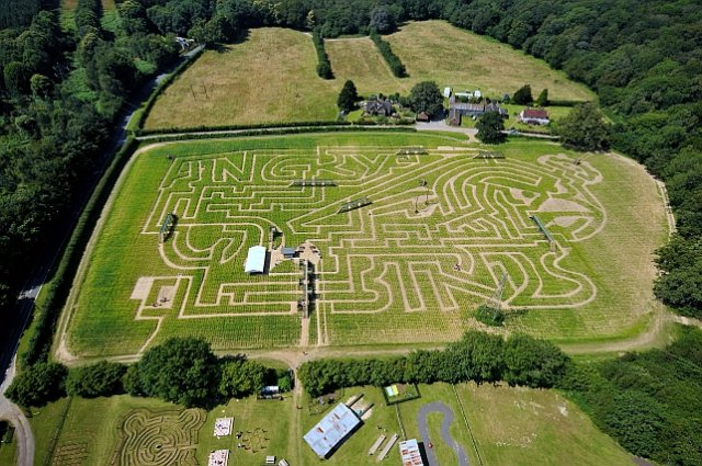 World's biggest Angry Birds maze opens in Sussex