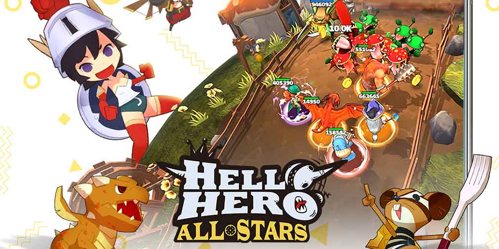 Assemble the ultimate team of heroes in the ambitious Hello Hero All Stars