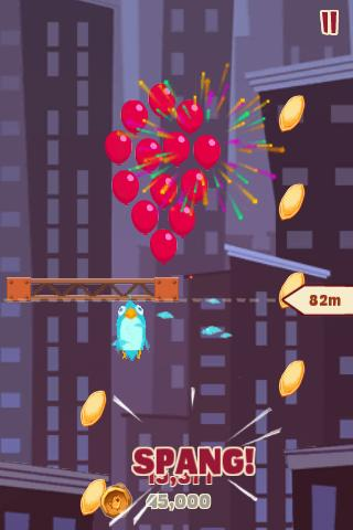 Free iPhone game: Bird Strike Gold Edition