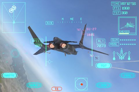 iPhone game Ace Combat Xi: Skies of Incursion coming in to land on the App Store