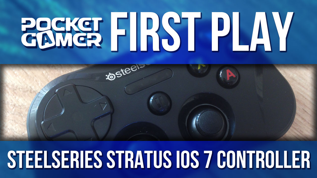 Tiny SteelSeries Stratus is the first wireless iOS 7 controller, and the first for iPad