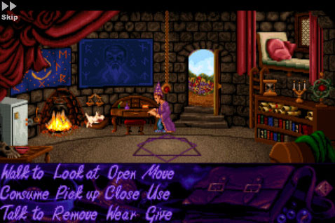Classic point and click adventure Simon the Sorcerer magically appears on iPhone