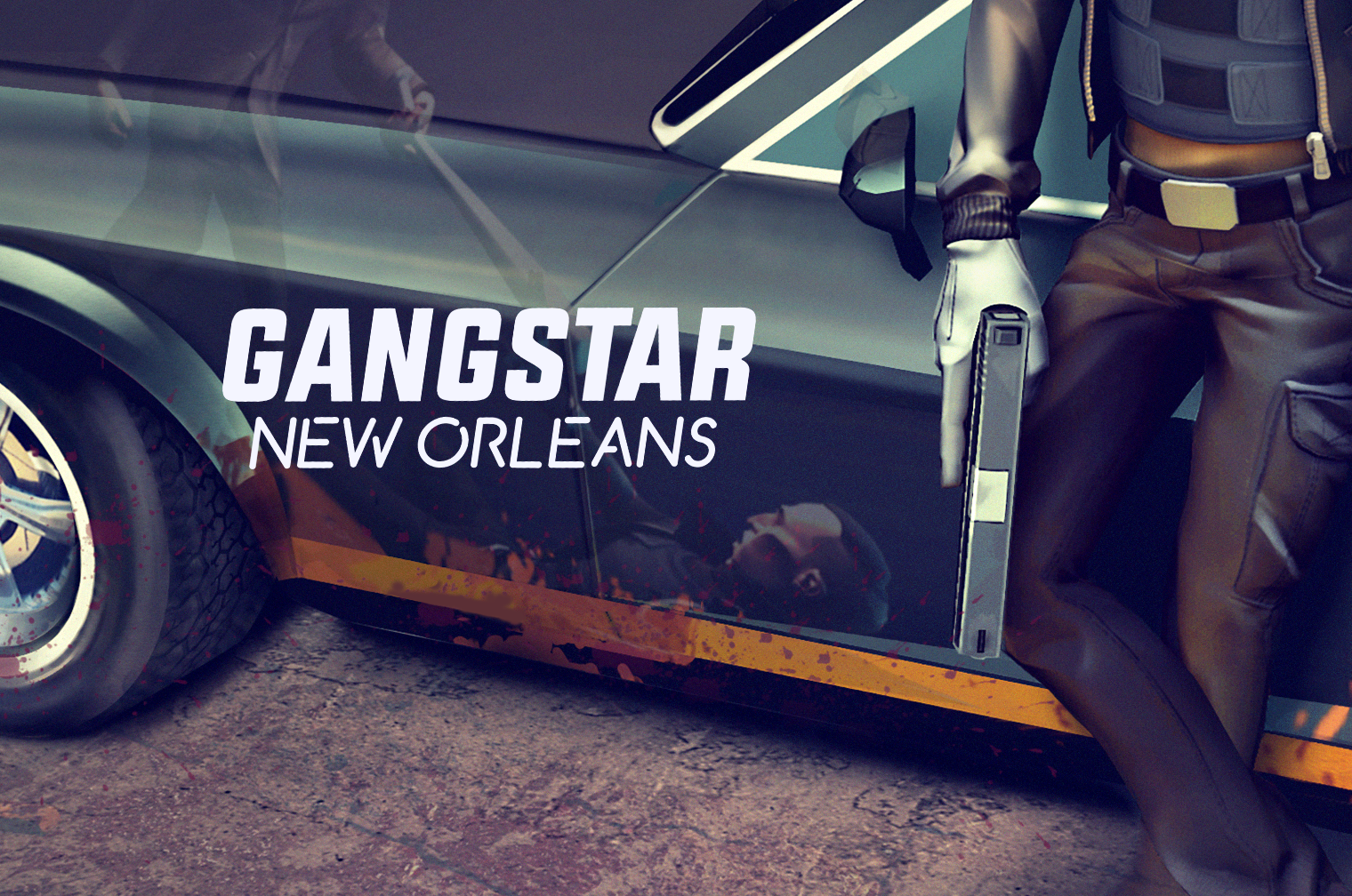 [Update] The GTA-like Gangstar: New Orleans hits out on iOS and Android