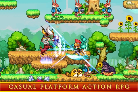 Action-RPG Illusia begins its quest on Android