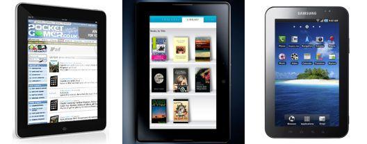 Tablet showdown: Apple iPad vs Samsung Galaxy Tab vs RIM PlayBook