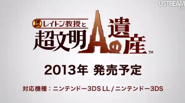 Is this the end for Professor Layton?