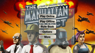 The Manhattan Project is a digital boardgame adaptation that's out now for iOS and Android