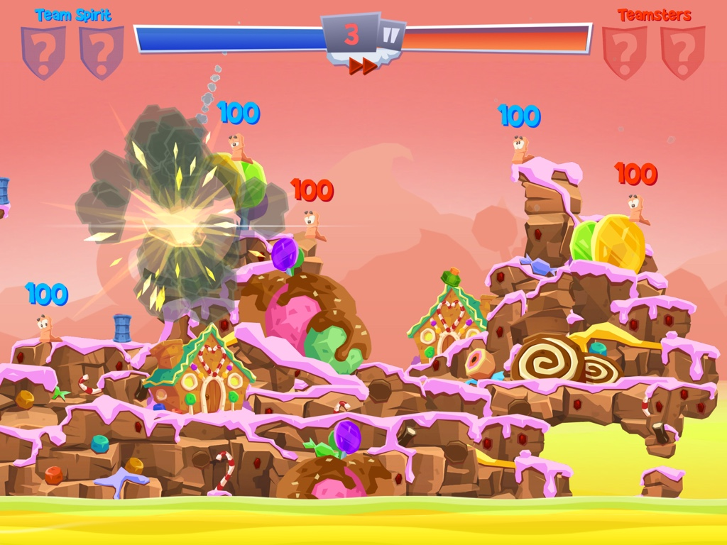 Out at midnight: Worms 4 is the latest instalment in the enormous battling franchise