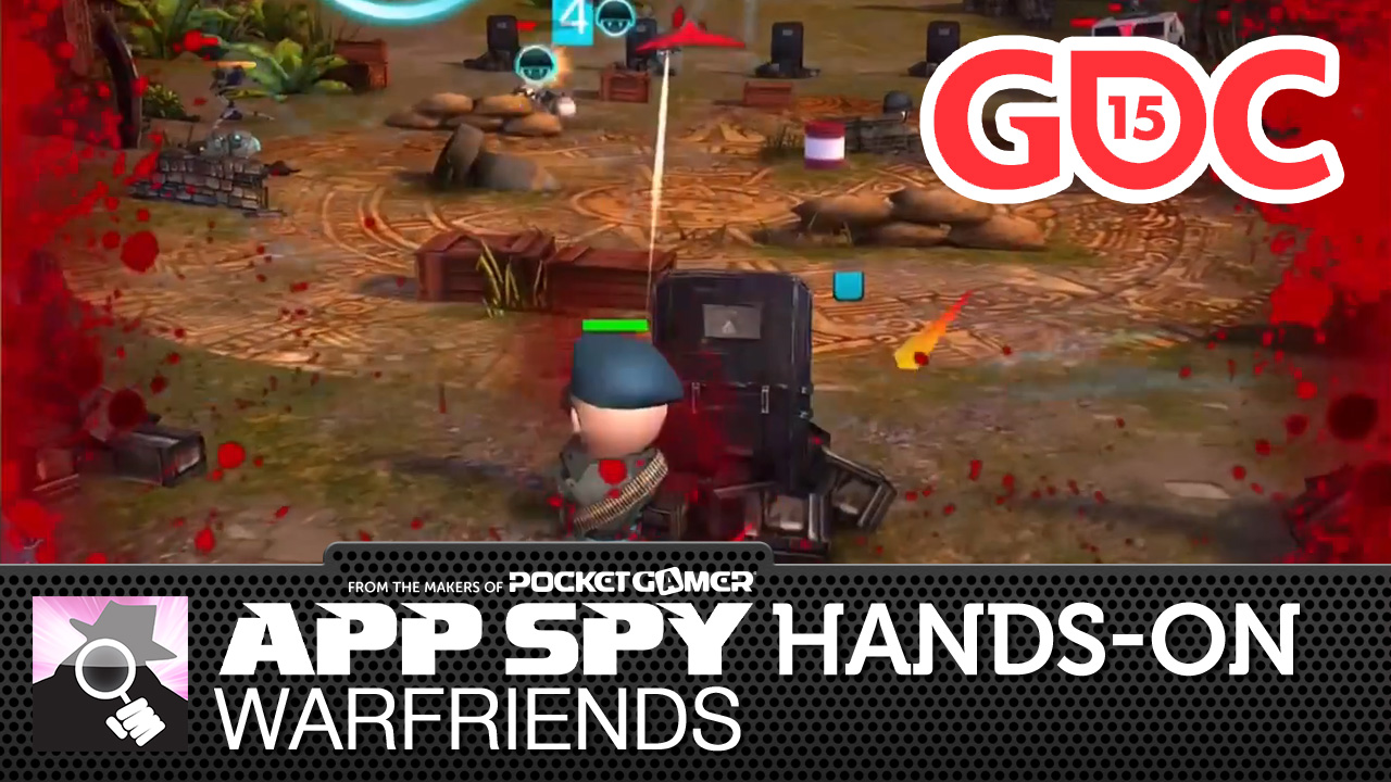 GDC 2015: Hands-on with WarFriends - a snappy shooter that took home third place at the Big Indie Pitch