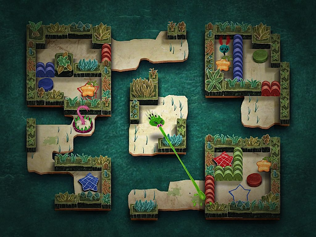 Konami's hand-drawn pig snot-themed arcade-puzzler Gesundheit! coming to iOS soon