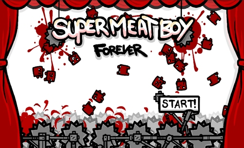 [Update] Super Meat Boy Forever is Team Meat's newest project, an endless runner for tablets