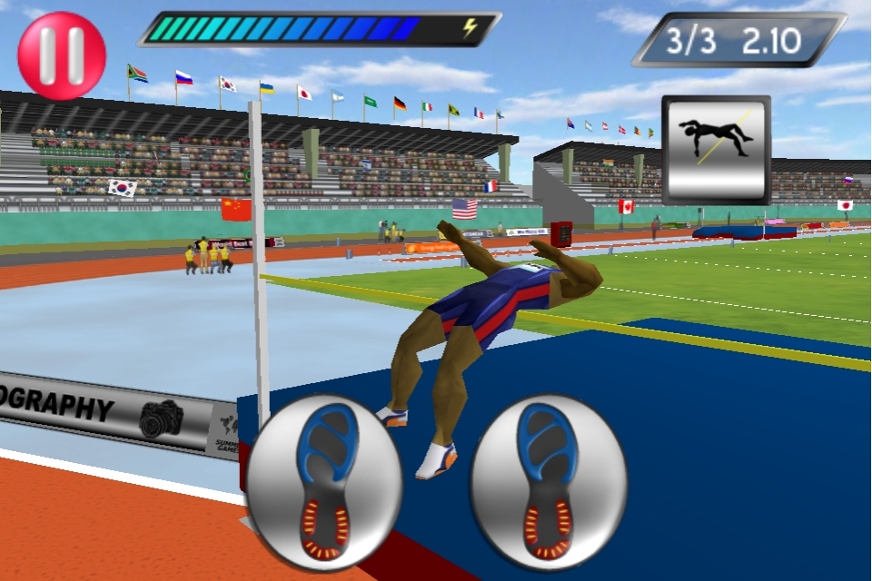 Go for gold on iOS in Elite's 2012 successor to Track & Field