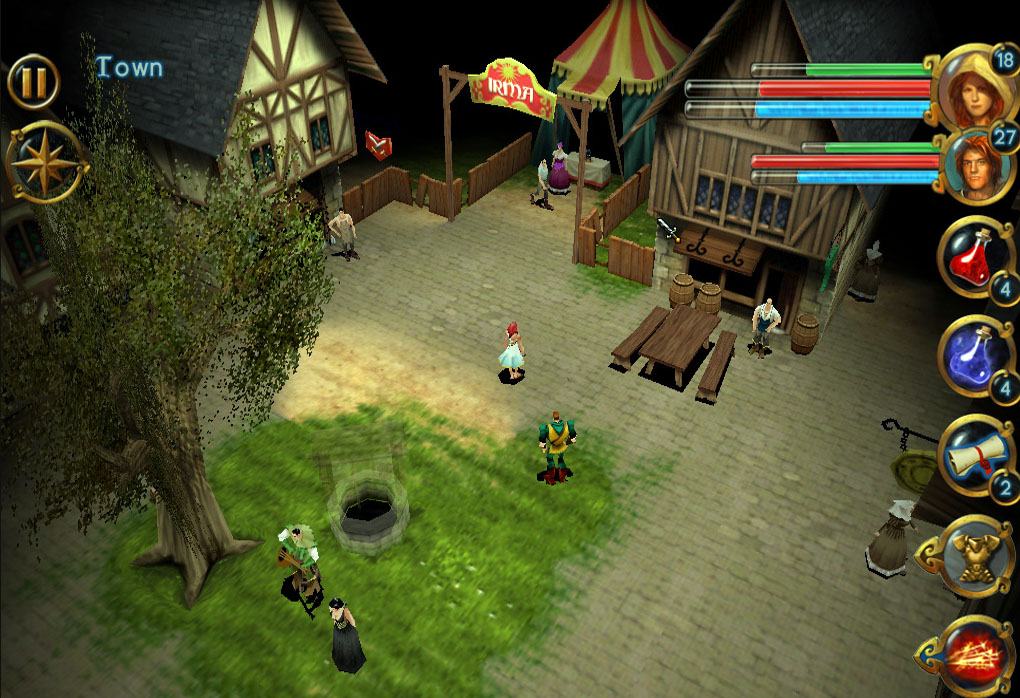Grab your beta sign-up for classic French PC RPG Darkstone on Android before March 10th
