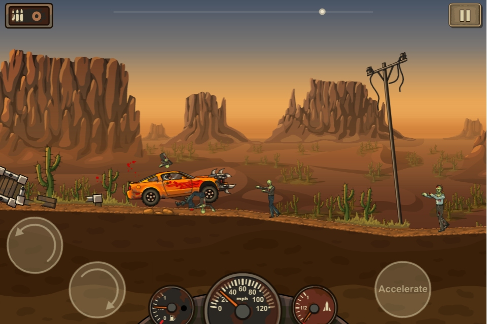 Zombie drive down Flash game Earn to Die coming to App Store on September 20th