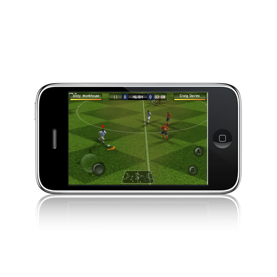 Hands on with FIFA 10 on iPhone