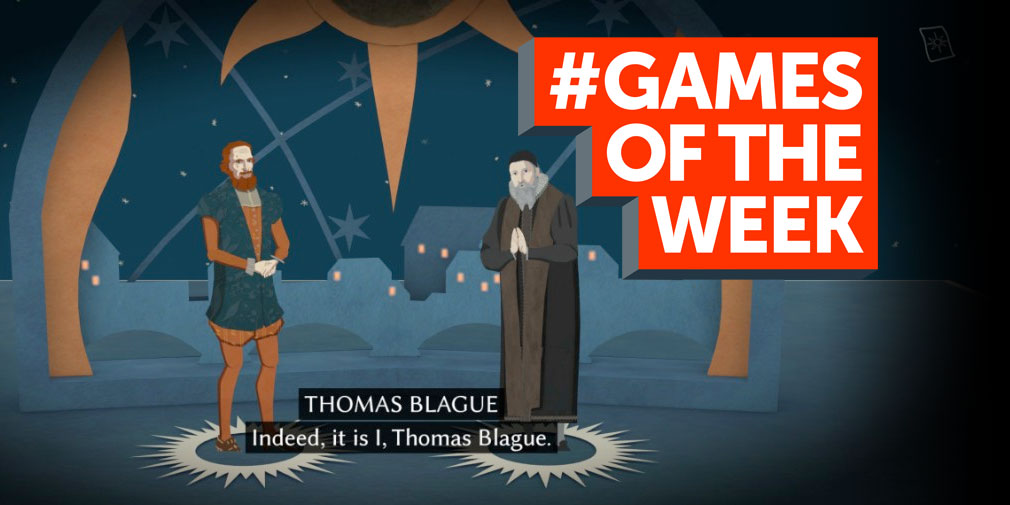GAMES OF THE WEEK - The 5 best new games for iOS and Android - May 2nd