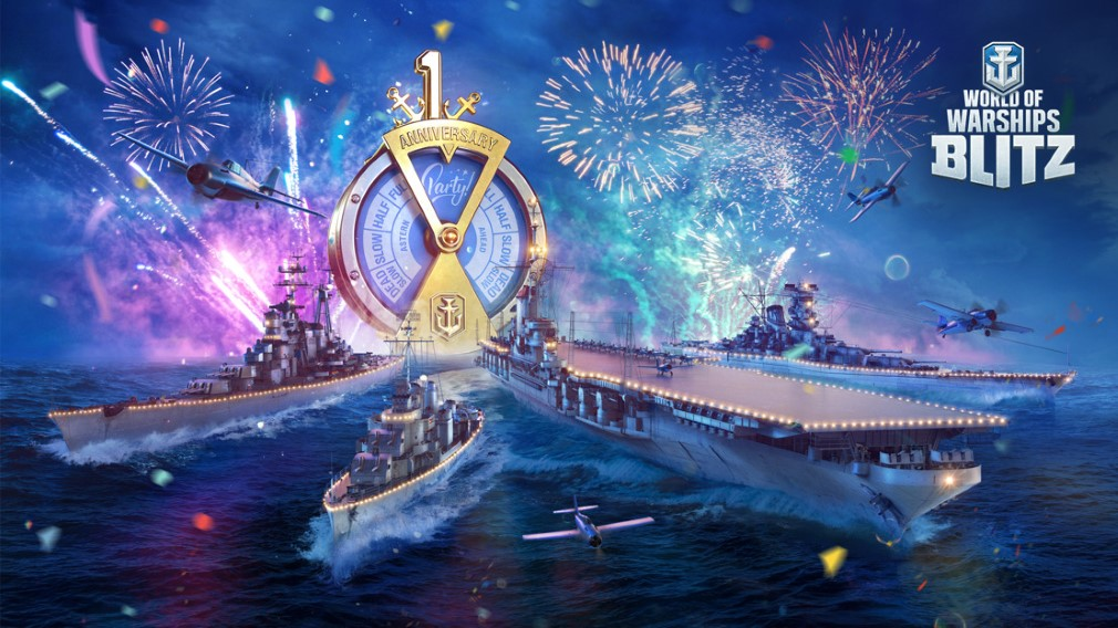 WIN: One of 50 ships for World of Warships Blitz' birthday