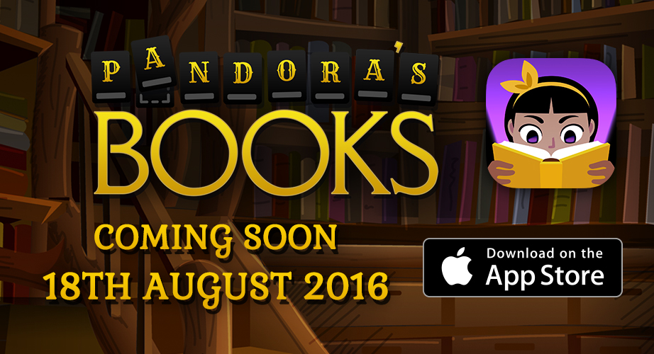 Novelicious word game Pandora's Books heads to iOS later this month