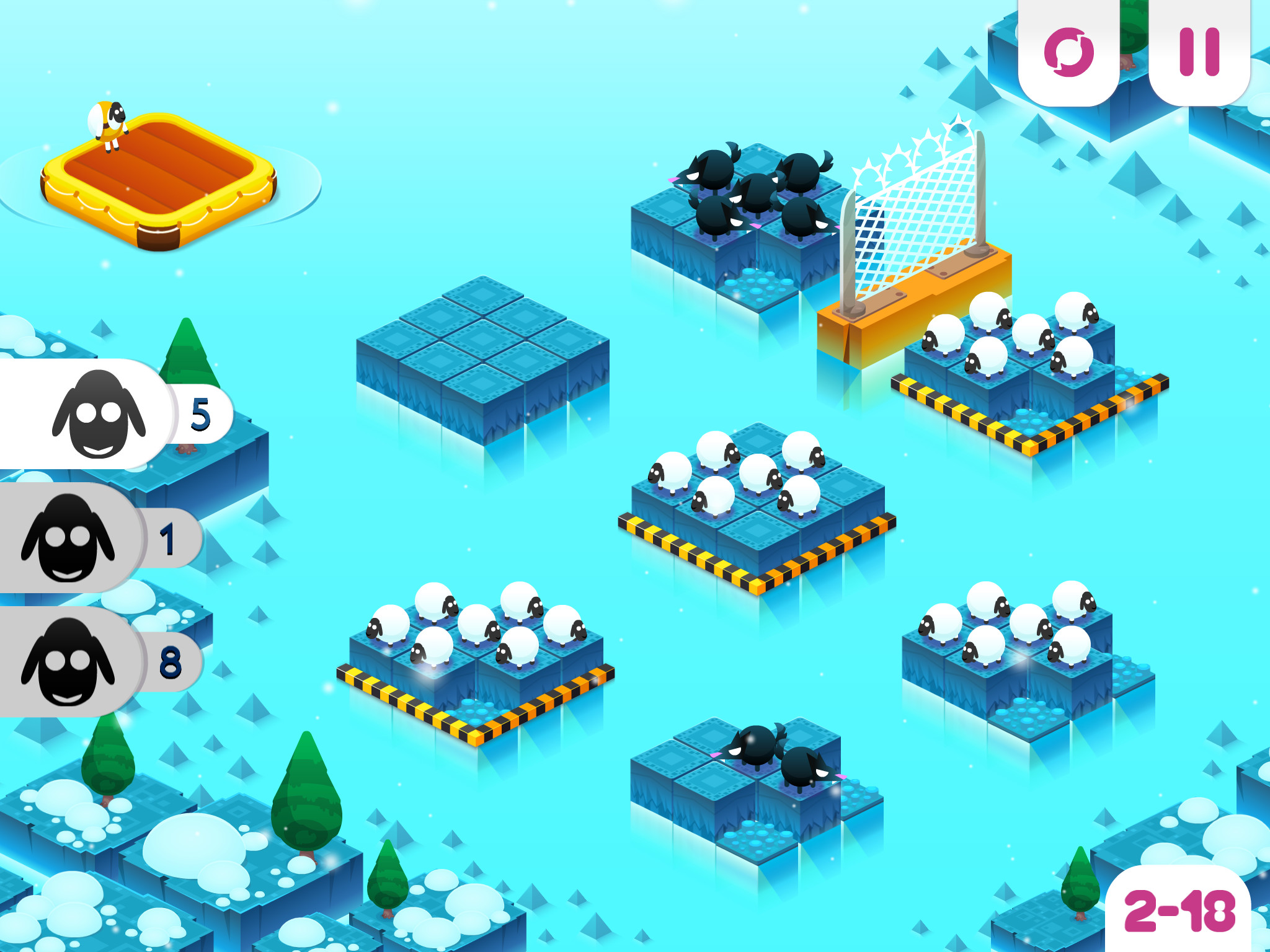 Divide By Sheep - A fresh and engaging puzzler