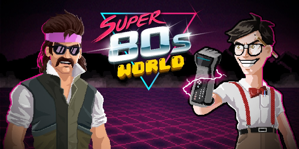 New to iOS: Super 80s World is retro fun for fans of mobile platformers and endless runners
