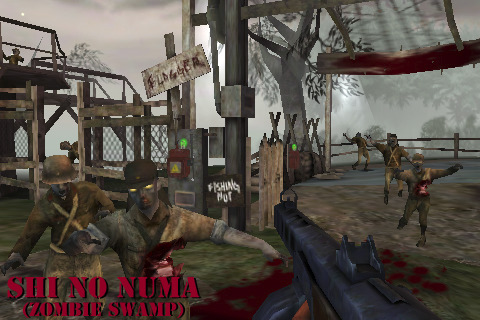 iPhone infested with Call of Duty: World at War: Zombies II ... on