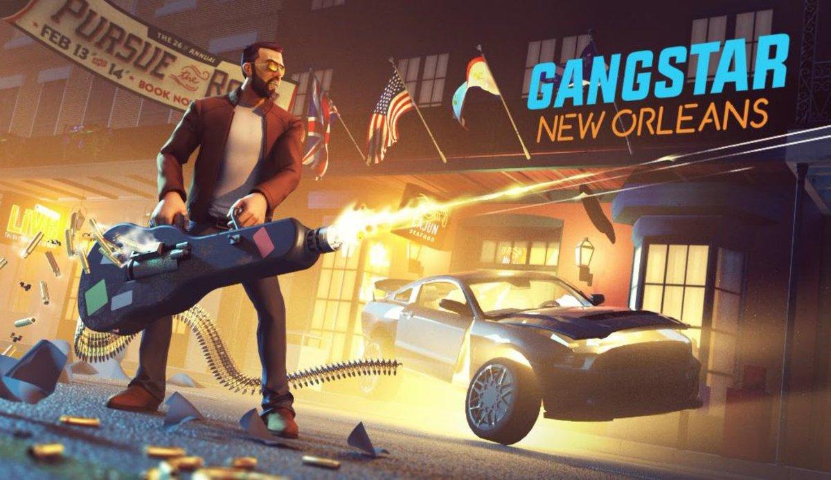 Gameloft announces the open-world Gangstar: New Orleans, and online shooter Modern Combat Versus