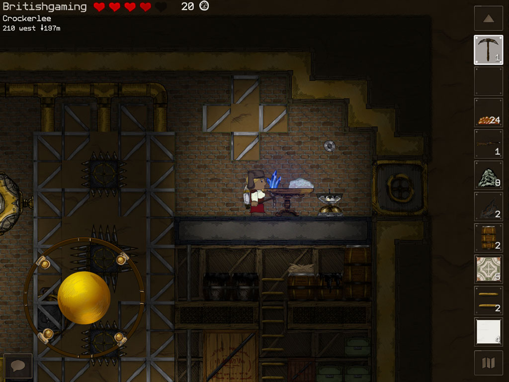 Hands-on with Deepworld - the steampunk-style Minecraft MMO