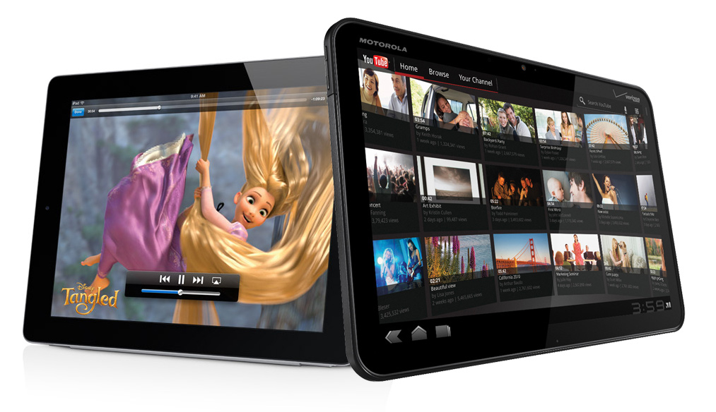 The year of the tablet brawl: iPad 2 vs Xoom, Galaxy Tab, HP TouchPad, LG Optimus