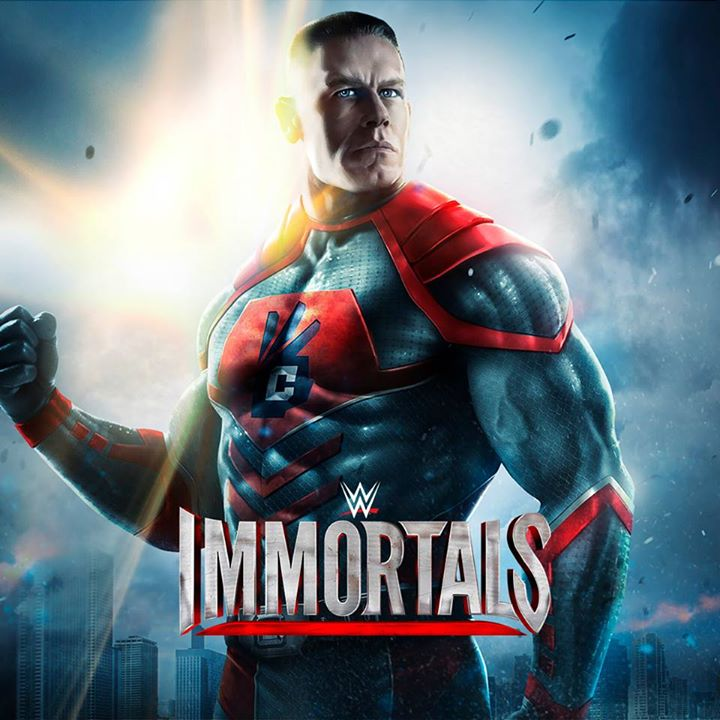 WWE Immortals turns wrestlers into superheroes, out on iOS and Android this month
