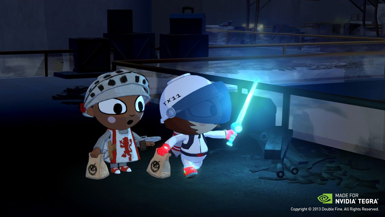Trick or treat? Double Fine's Costume Quest is heading to Nvidia's Android-powered Shield console