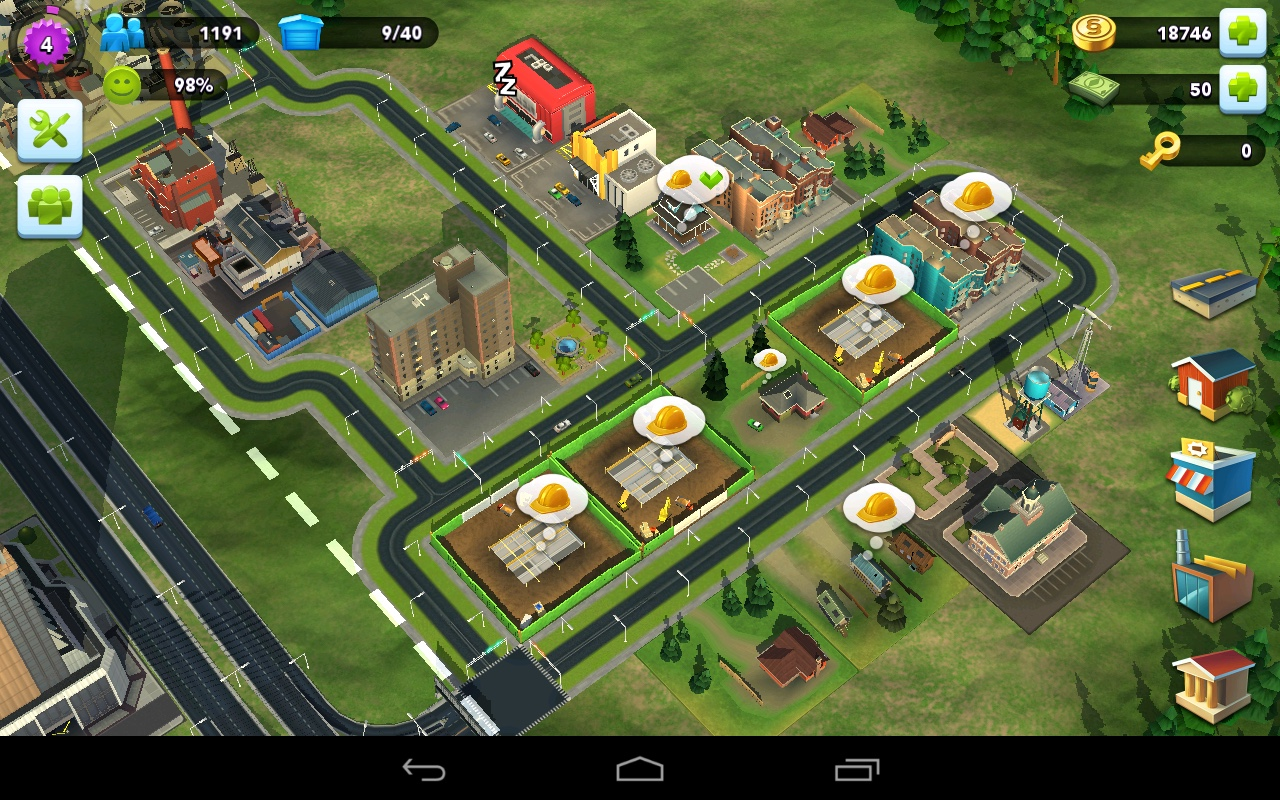 SimCity Buildit Image 5 Of 11 SimCity Buildit Android IPhone IPad Screens