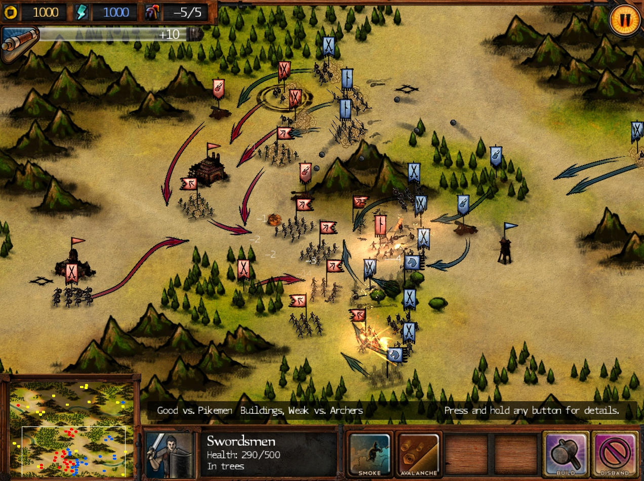 UPDATE: Okami meets Total War in upcoming iPad RTS Autumn Dynasty, out Thursday
