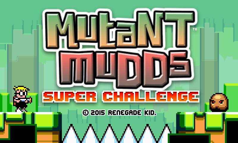 Mutant Mudds Super Challenge will test veterans of the original game, coming to 3DS in 2015