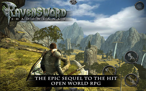 Epic fantasy RPG sequel Ravensword: Shadowlands strides boldly into the Android realm