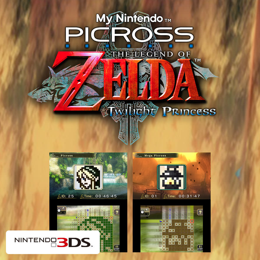 How to get a free Zelda Picross game for 3DS using My Nintendo and Miitomo