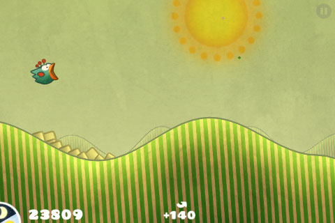 First update for Tiny Wings on iPhone adds extra nest, Game Center support