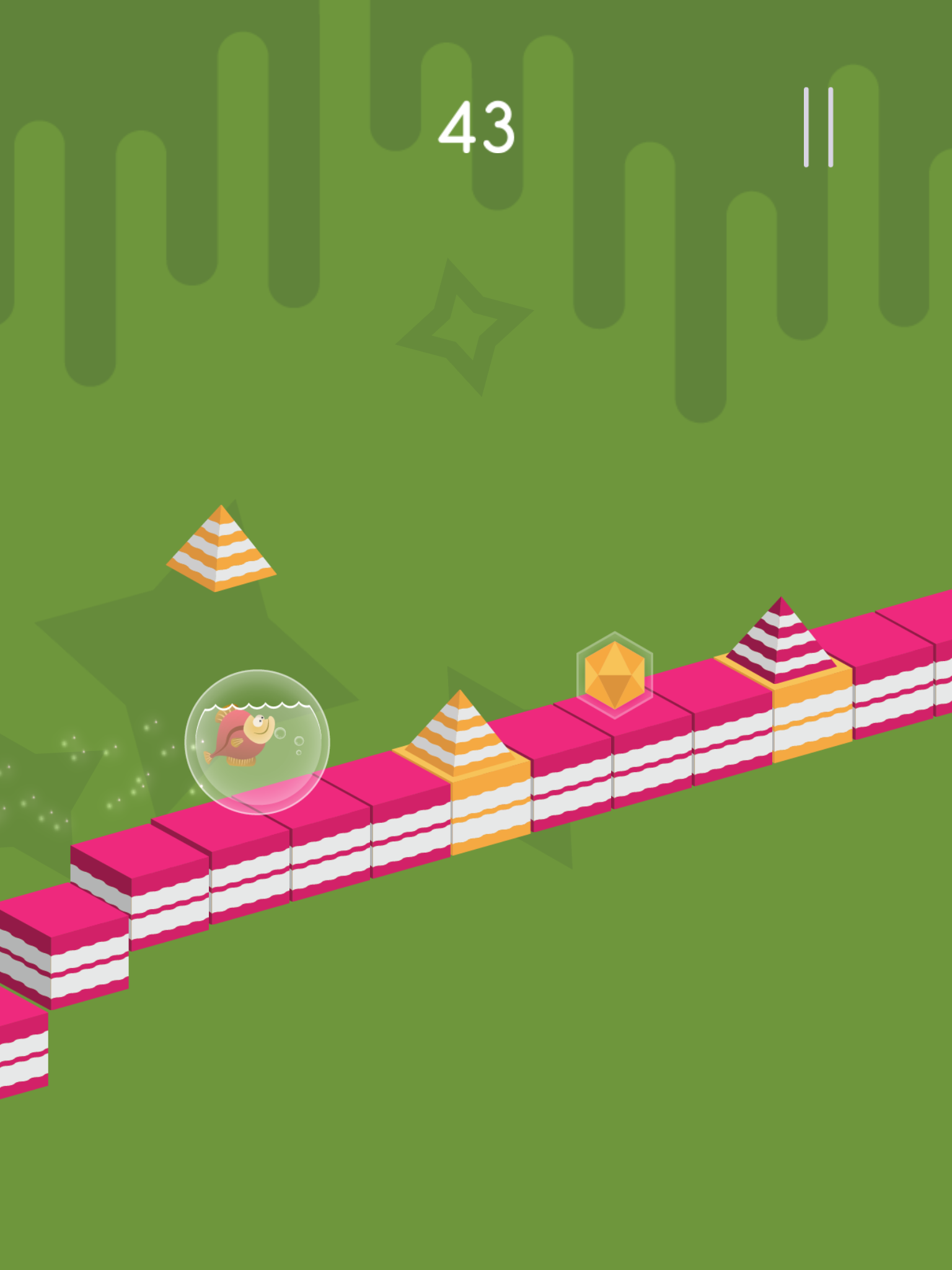 Jump or Stay review - An auto-runner where jumping isn't always the right course