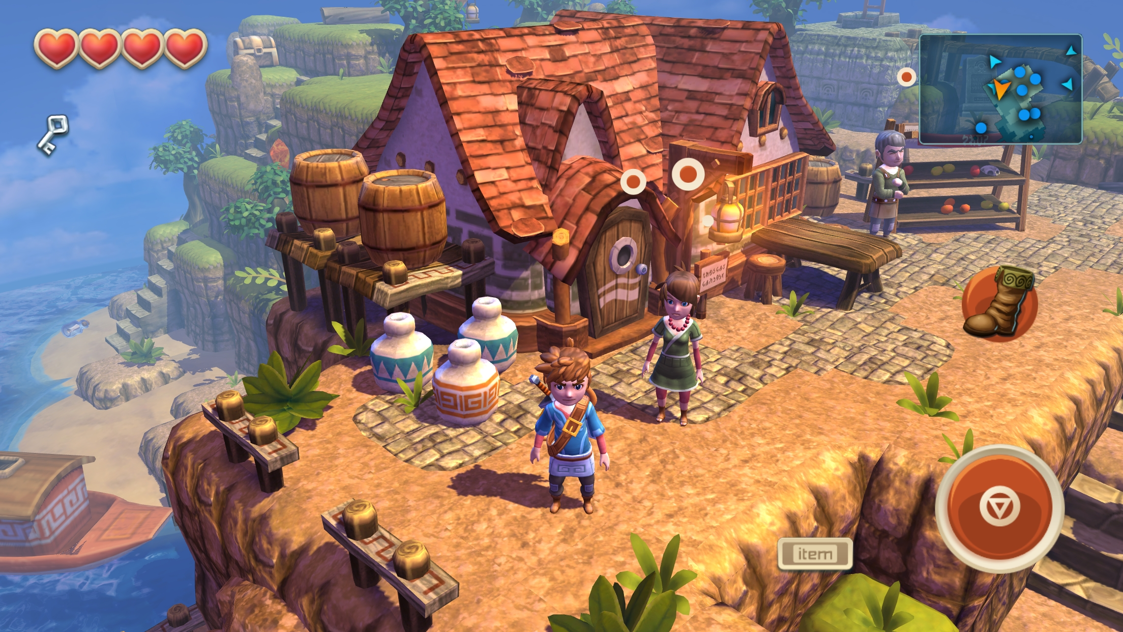 Oceanhorn gets iOS 9 'Ultra Quality' graphics with its latest update