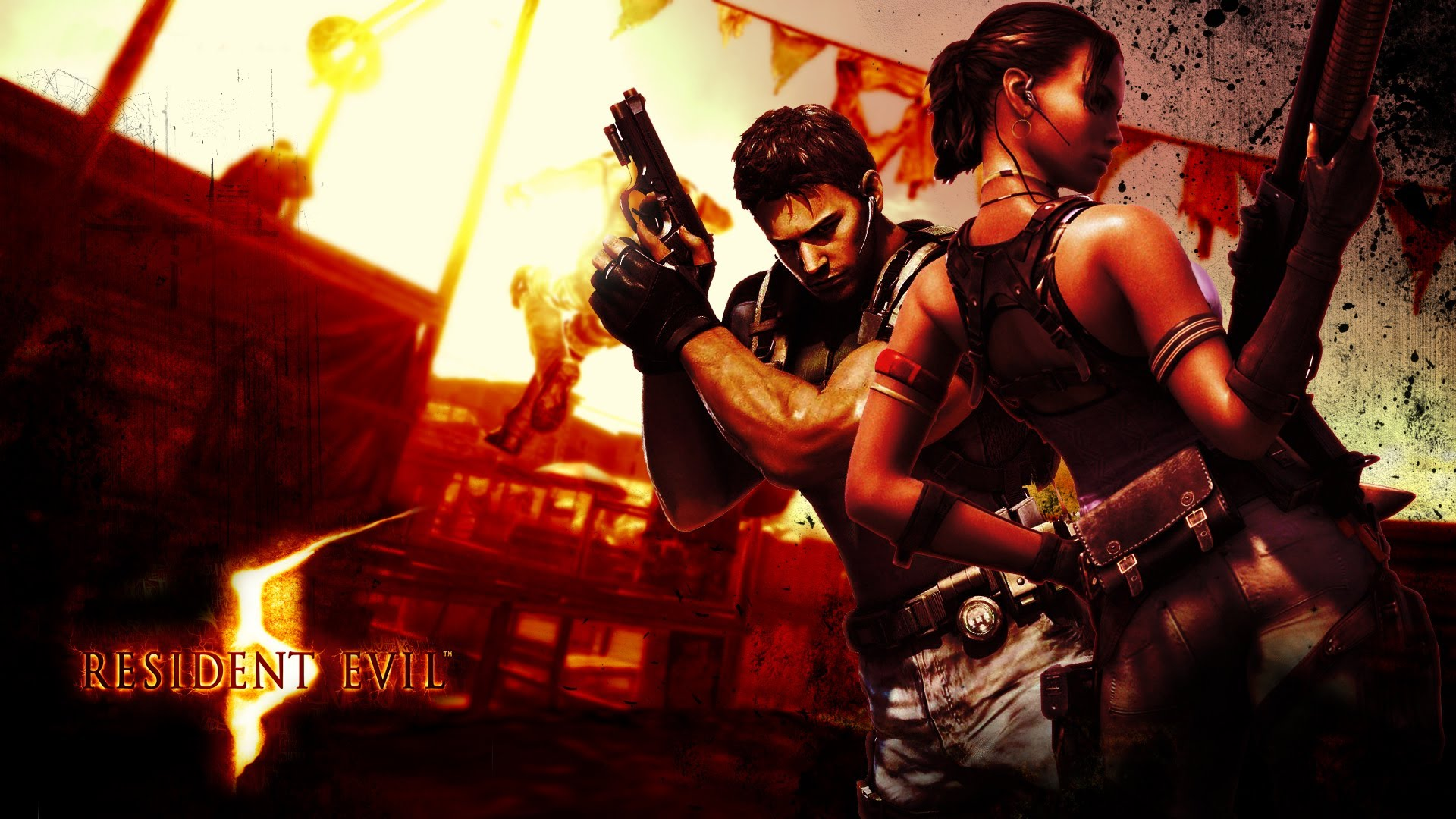 Play Capcom's Survival-Horror Hit Resident Evil 5 Now on SHIELD Android TV