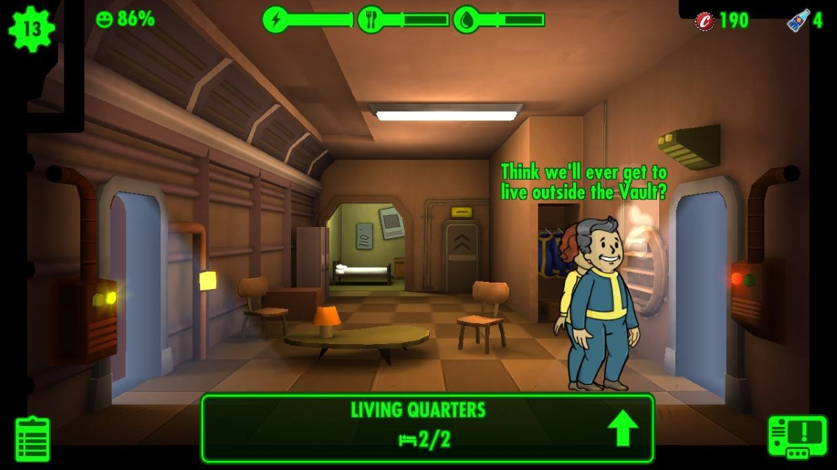 Fallout Shelter Switch review - The same base builder you've played before
