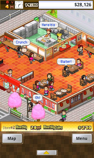 Kairosoft's next attack on your free time, Cafeteria Nipponica, arrives on Android