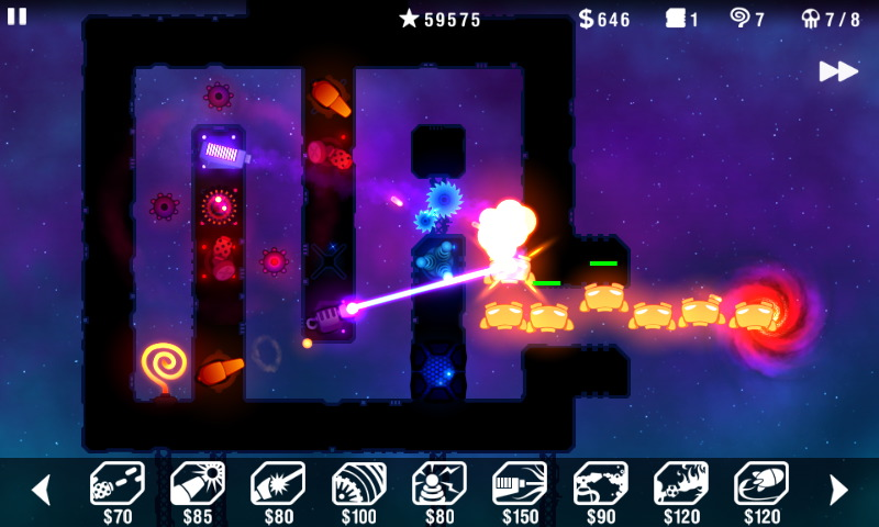 Radiant Defense now shooting up Android in a burst of free-to-play brilliance