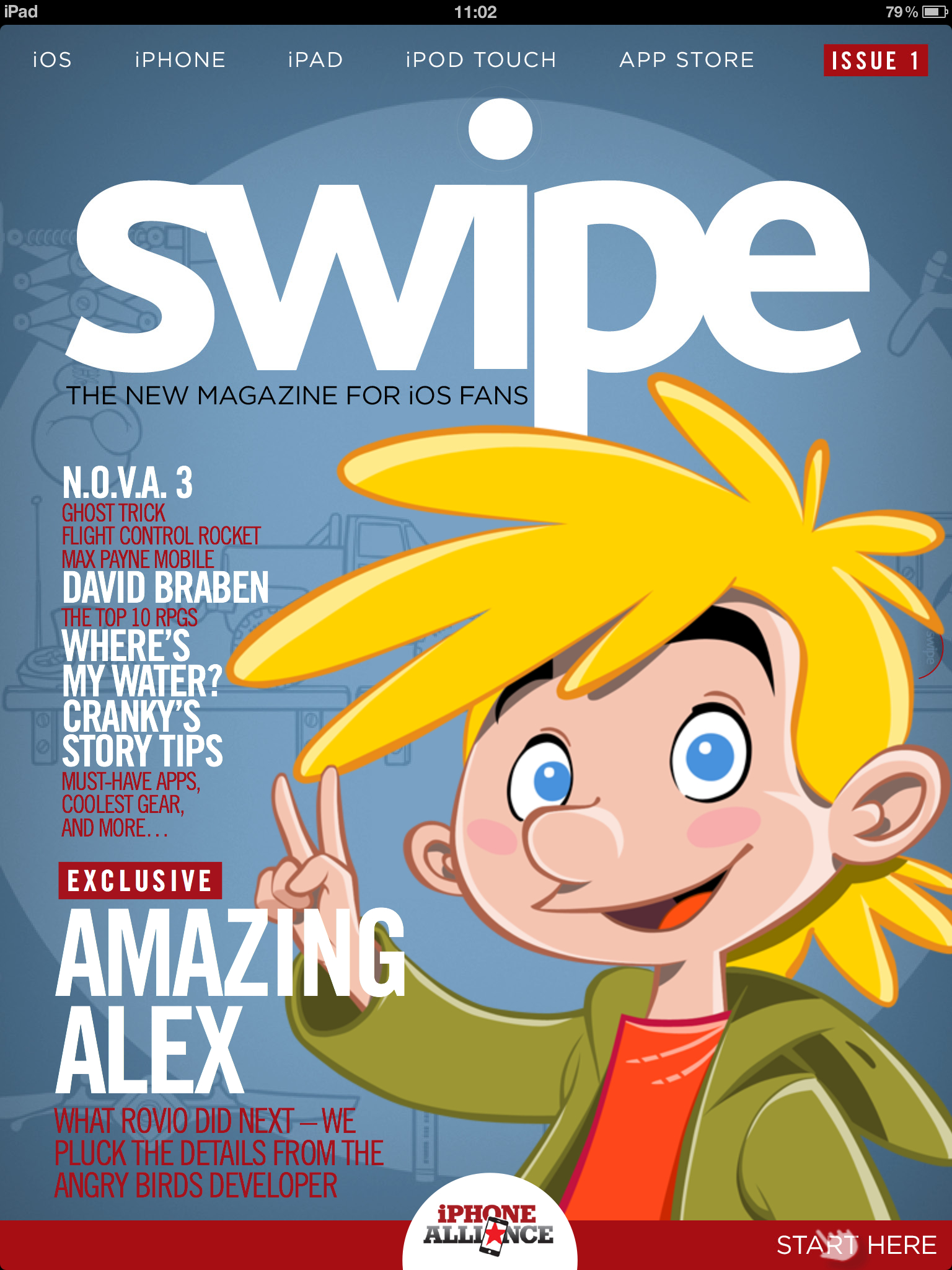 Steel Media launches swipe, the interactive magazine for iOS fans