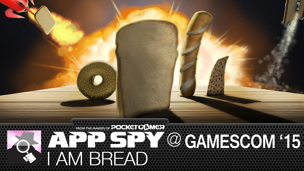 Gamescom2015: I Am Bread on iOS is full of wholemeal goodness, we've got the only direct capture gameplay
