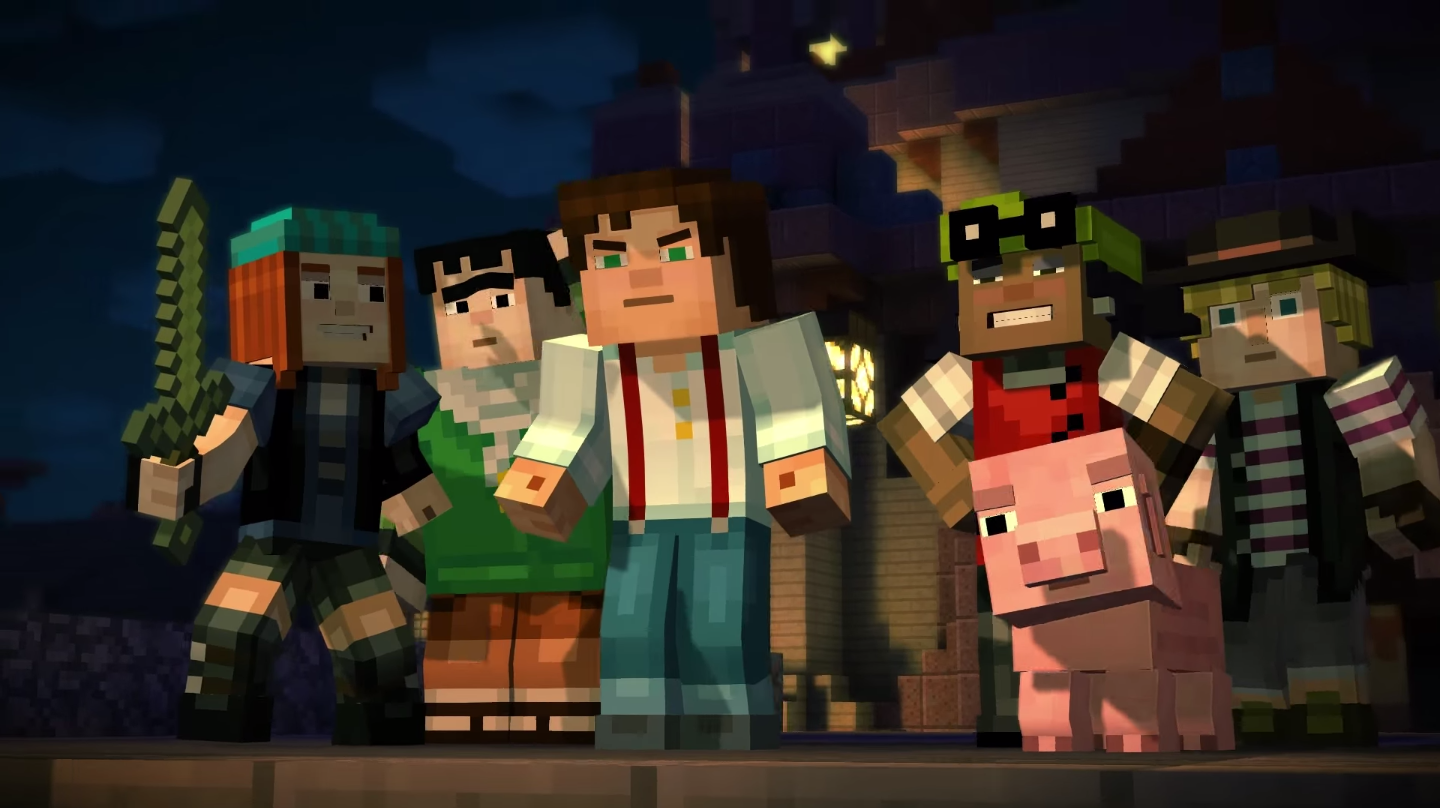 Episode 4 of Telltale's Minecraft: Story Mode 'has wrapped', coming this month